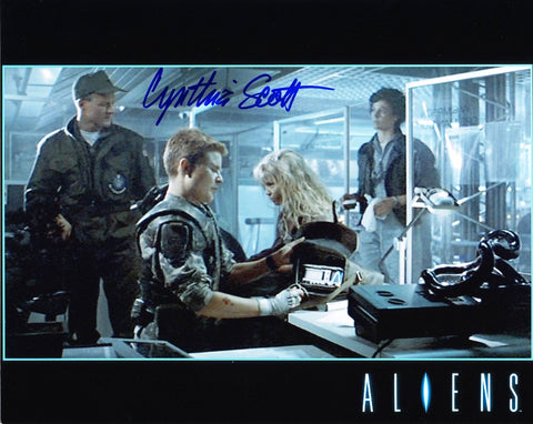CYNTHIA SCOTT as Corporal Dietrich - Aliens