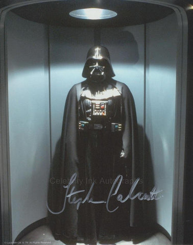 STEPHEN CALCUTT as the Darth Vader Stand-In  -  Star Wars: Episode IV