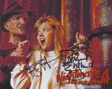 ROBERT ENGLUND & TUESDAY KNIGHT as Freddy Krueger & Kristen - Nightmare On Elm Street