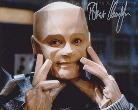 ROBERT LLEWELLYN as Kryten - Red Dwarf