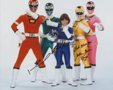 POWER RANGERS TURBO - Multi Signed Cast Shot