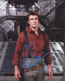 NATHAN FILLION as Mal Reynolds  - Serenity/Firefly