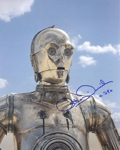 ANTHONY DANIELS as C-3PO - Star Wars