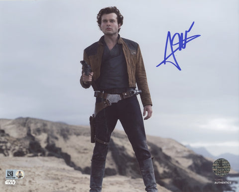 ALDEN EHRENREICH as Han Solo - Solo: A Star Wars Story  - Topps Authentics