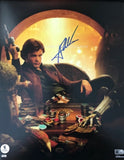 "ALDEN EHRENREICH as Han Solo - Solo: A Star Wars Story 11""x14"" - Topps Authentics"