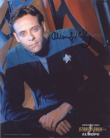 ALEXANDER SIDDIG as Dr. Julian Bashir - Star Trek: DS9