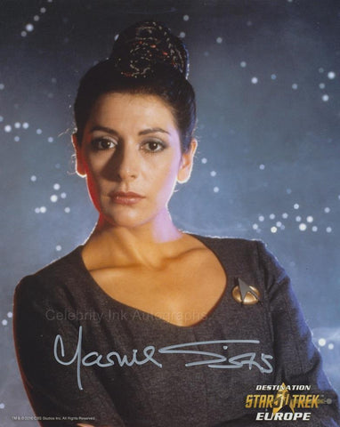 MARINA SIRTIS as Counselor Deanna Troi - Star Trek: TNG