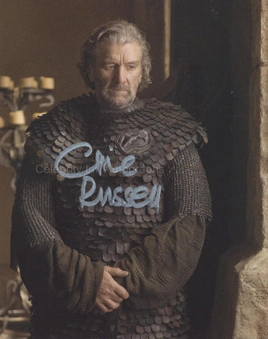 "CLIVE RUSSELL as Brynden ""Blackfish"" Tully  - Game Of Thrones"