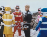 JUSTIN NIMMO as Zhane / The Silver Space Ranger - Power Rangers In Space