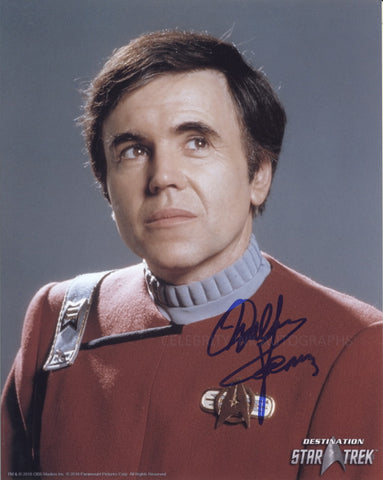 WALTER KOENIG as Pavel Chekov - Star Trek