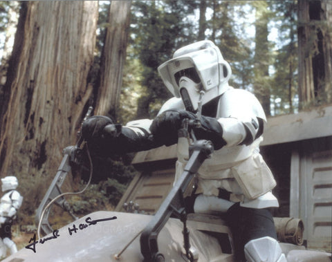 FRANK HENSON as a Biker Scout - Star Wars: Episode VI - Return Of The Jedi