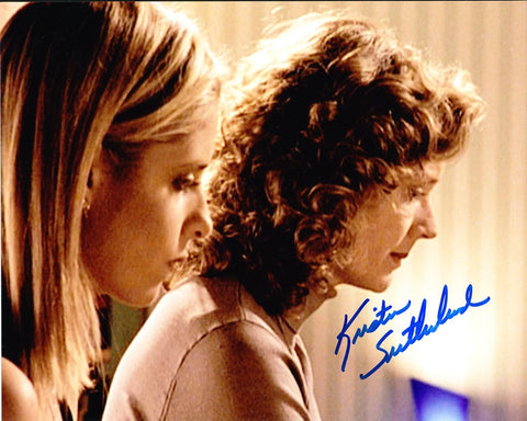 KRISTINE SUTHERLAND as Joyce Summers - Buffy The Vampire Slayer