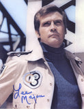 LEE MAJORS as Col. Steve Austin - The Six Million Dollar Man