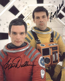 GARY LOCKWOOD and KEIR DULLEA as Frank Poole and Dave Bowman - 2001: A Space Odyssey