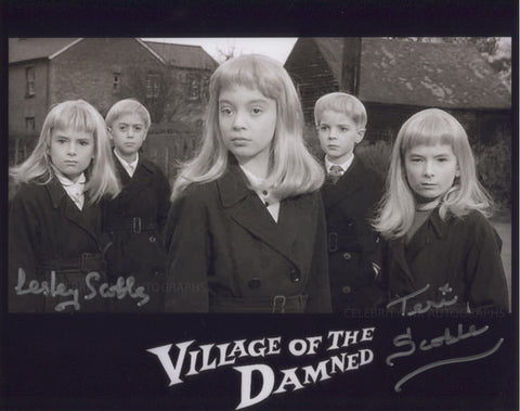 LESLEY SCOBLE and TERI SCOBLE - Village Of The Damned