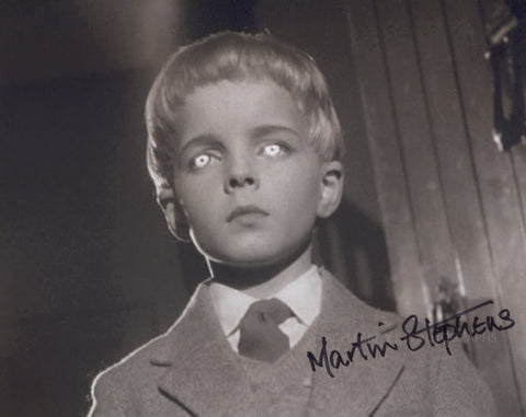 MARTIN STEPHENS as David Zellaby - Village Of The Damned