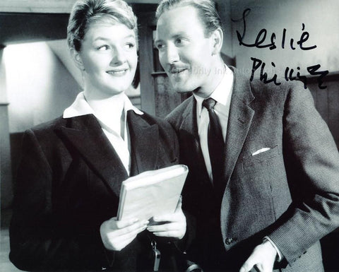 LESLIE PHILLIPS - British Movie Legend