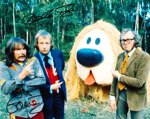 TIM BROOKE-TAYLOR and BILL ODDIE - The Goodies