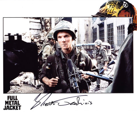 KIERON JECCHINIS as Crazy Earl - Full Metal Jacket