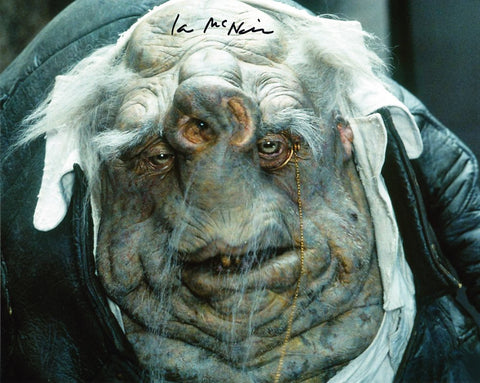 IAN McNEICE as The Voice Of Kwaltz - Hitchhikers Guide To The Galaxy Movie