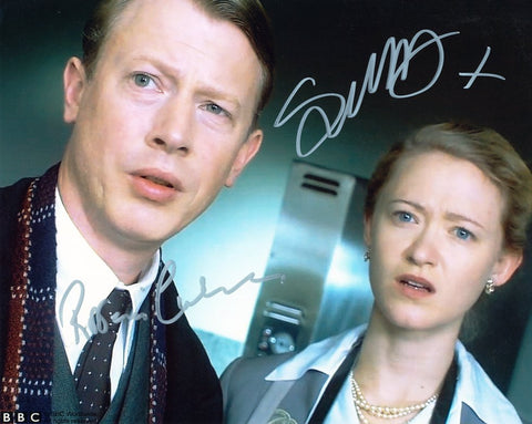 RODERIC CULVER and SIOBHAN HEWLETT as Gerald and Harriet - Torchwood