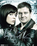 EVE MYLES and KAI OWEN as Gwen Cooper and Rhys Williams - Torchwood