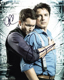 JOHN BARROWMAN and GARETH DAVID-LLOYD as Jack and Ianto - Torchwood