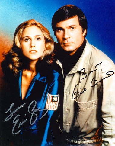 ERIN GRAY and GIL GERARD as Wilma Deering and Buck Rogers - Buck Rogers In the 25th Century