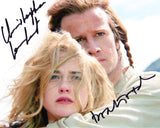 CHRISTOPHER LAMBERT and BEATIE EDNEY as Connor and Heather Macleod - Highlander