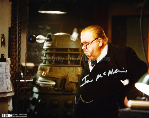 IAN McNEICE as Winston Churchill - Doctor Who