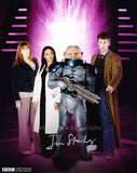 DAN STARKEY as a Sontaran / Strax - Doctor Who