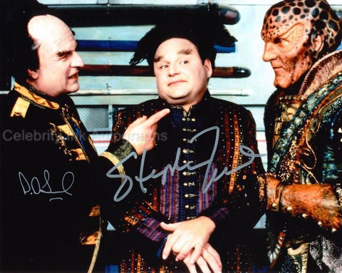 PETER JURASIK and STEPHEN FURST as Londo Mollari and Vir Cotto - Babylon 5