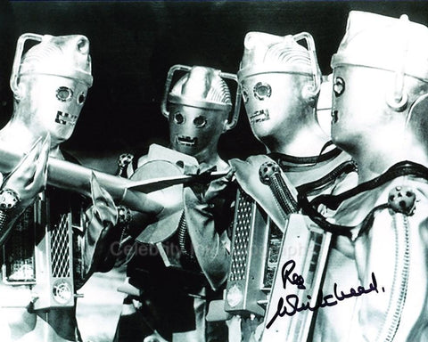 REG WHITEHEAD as a Cyberman - Doctor Who