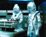 MICHAEL KILGARRIFF as a Cyberman - Doctor Who