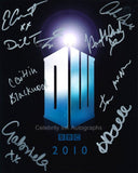 DOCTOR WHO Multi Signed Cast Shot - 8 Autographs