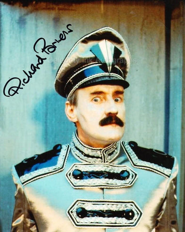 RICHARD BRIERS as The Chief Caretaker - Doctor Who