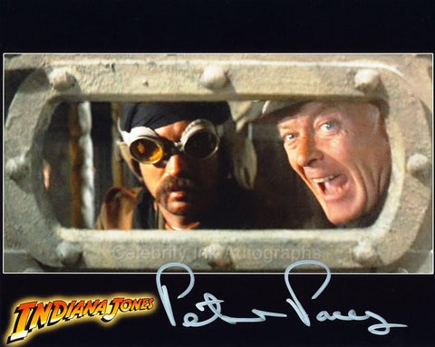 PETER PACEY as The Hatay Tank Driver - Indiana Jones And The Last Crusade