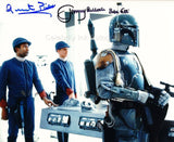 JEREMY BULLOCH and QUENTIN PIERRE as Boba Fett and Sgt. Edian - Star Wars: Episode V - The Empire Strikes Back