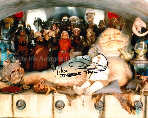MIKE EDMONDS Jabba Puppeteer - Star Wars: Episode VI - The Return Of The Jedi
