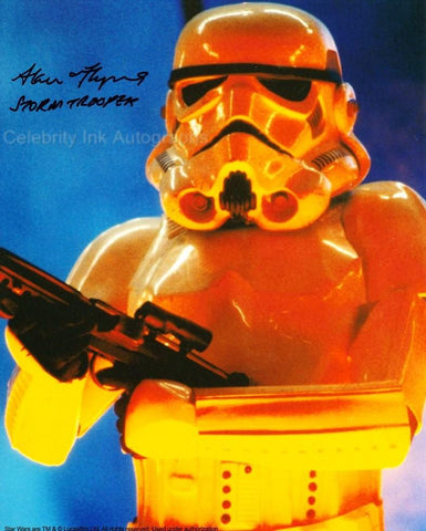 ALAN FLYNG as a Stormtrooper - Star Wars: Episode VI - Return Of The Jedi