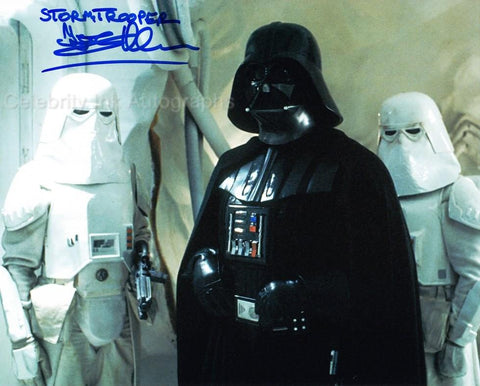 TONY ALLEN as a Snowtrooper - Star Wars: Episode V - The Empire Strikes Back