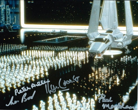 STAR WARS - Imperial Troops Multi Signed Photo - 4 Autographs