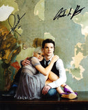 HANNAH SPEARRITT and ANDREW LEE POTTS as Abby Maitland and Connor Temple - Primeval