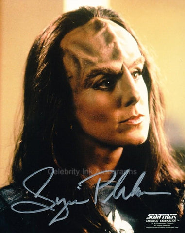 SUZIE PLAKSON as K'Ehleyr - Star Trek: TNG