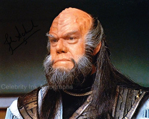 JOHN SCHUCK as the Klingon Ambassador - Star Trek VI - The Undiscovered Country
