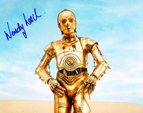 WENDY LEECH - C-3PO Stunt Double - Star Wars: Episide IV - A New Hope