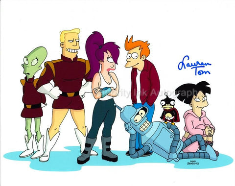 LAUREN TOM as The Voice Of Amy Wong - Futurama