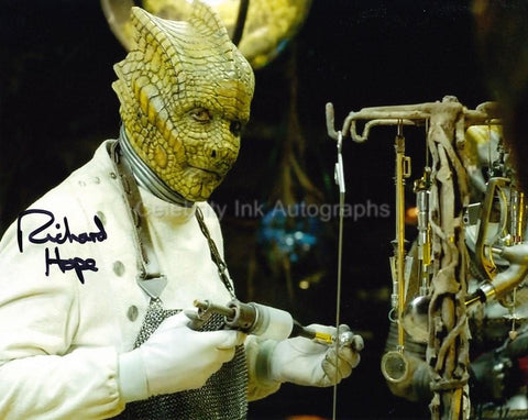 RICHARD HOPE as Malohkeh - Doctor Who