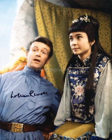 WILLIAM RUSSELL as Ian Chesterton - Doctor Who