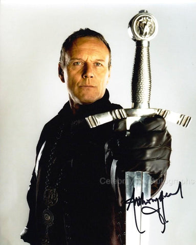 ANTHONY HEAD as Uther Pendragon - Merlin
